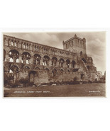 UK Scotland Jedburgh Abbey from South Valentines Real Photo Vintage Post... - $7.56