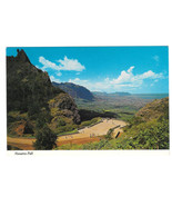 Hawaii Nuuanu Pali Lookout Oahu Aerial View Vtg Postcard 4X6 HI - $4.99