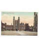 UK England Eton College The Quarangle Vtg E Marshall Postcard c 1910 - $7.56