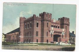 Holyoke MA Armory Vintage 1910 Postcard - $7.56