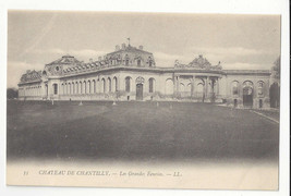 France Chateau Chantilly Les Grandes Ecuries Stables Vtg Lucien Levy Pos... - $7.56