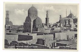 Egypt Cairo Mamelouk Tombs Citadel Lehnert & Landrock Vintage Postcard - $7.56