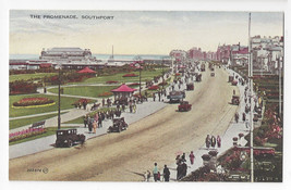 UK Southport England The Promenade Vintage Valentines Postcard - $6.69