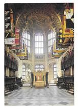 UK London Westminster Abbey Chapel of Henry VII Vtg Arthur Dixon Postcar... - $7.56
