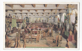 CA Riverside Glenwood Mission Cloister Music Room Vtg Photostint Postcard - $7.56