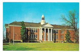 NJ Bordentown Administration Educational Building Vtg Postcard New Jersey - $7.56