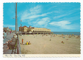 Ocean City NJ Beach Music Pier Vintage Postcard 4X6 Thulin Photo - $7.56