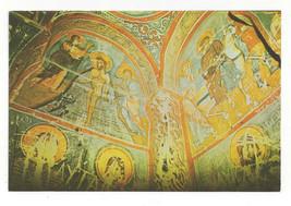 Turkey Goreme Byzantine Fresco Art Karanlik Kilise Dark Church Vtg Postc... - $7.56