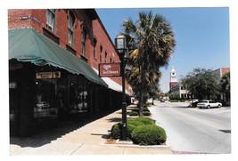Florida Fernandina Beach Centre St RPPC Vtg1988 Real Photo Color Postcar... - $7.56