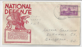 Naval Cover USS Coral PY-15 FDPS First Day Postal Service 1941 Anderson ... - $7.56