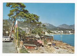 France Carnoles Menton Restaurant Le Pirate Vintage Montluet Postcard 4X6 - $7.56