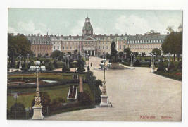 Germany Karlsruhe Schloss Vtg Schaar u Dathe Postcard c 1910 - $7.56