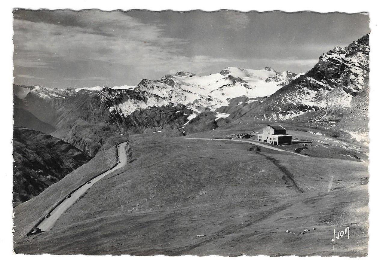France RPPC Col de L'Iseran Summit Chalet Hotel Alps Vtg Yvon Postcard 4X6