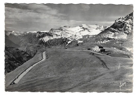 France RPPC Col de L'Iseran Summit Chalet Hotel Alps Vtg Yvon Postcard 4X6 - $7.56