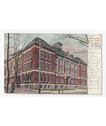 DE Wilmington High School Vintage 1909 UDB Postcard - $6.49