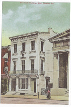 West Chester PA Elks Club Building Bicentennial Repro Postcard 1999 4X6 - $6.49