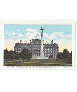 Washington DC War State Departments First Division Monument Vtg Postcard - $6.49