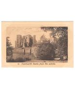 UK Kenilworth Castle From Outside Vtg The Fine Art Series Postcard Litho... - $4.99