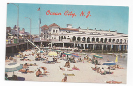 Ocean City NJ Beach Music Pier Boardwalk Vintage Freeman Postcard Don Ceppi - $8.99