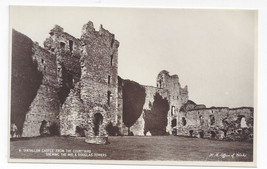 UK Scotland Tantallon Castle Courtyard Towers H. M Office of Works Real Photo PC - $4.99
