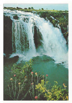 Turkey Antalya Duden Waterfall Vtg Hitit Color Postcard 4X6 - $4.99