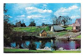 MA Saugus Ironworks Restoration Vtg Postcard - $6.49