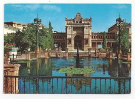 Spain Sevilla Seville Archeological Museum Square of America Vtg Postcar... - $6.49