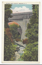 NY Ossining Double Arch Viaduct Vintage Postcard - $7.75