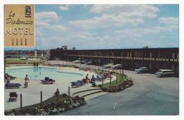 Canada Montreal Le Diplomate Motel Vtg Quebec Hotel Postcard - $7.75