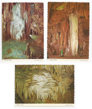 VA Luray Caverns Titanias Veil Double Column Wishing Well  Lot of 3 Post... - $7.75