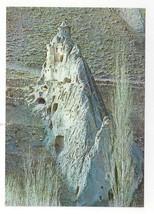 Turkey Soganli Kubbeli Kilise Dome Church Cave Vtg Postcard 4X6 - $7.75