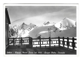 RPPC Italy Gruppo Ortler Cevedale Stelvio Monte Livrio Hut Alps Vtg Post... - $8.72