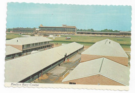 Baltimore MD Pimlico Race Course Stables Clubhouse 1970s Postcard 4X6 - $7.75
