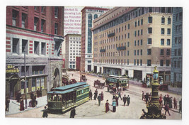 San Francisco CA Market Street Palace Hotel Trolley Vintage O Newman Pos... - $7.75