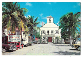 St Maarten Post Office Court Philipsburg Vtg Postcard 4X6 Netherland Ant... - $7.75