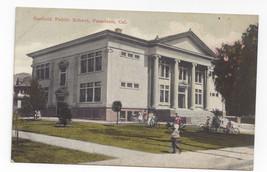 Pasadena CA Garfield Public School Vintage Newman California Postcard - $7.75