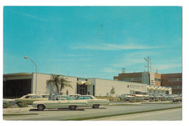 Florida Sarasota Post Office Cars Chevy Impala Vtg Postcard 1970 - $7.75