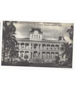 HI Honolulu Hawaii State Capitol Vintage Mayrose Co 1940s Postcard - $7.75