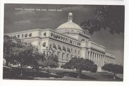 PR San Juan Puerto Rico Capitol Building Vintage Mayrose Co 1940s Postcard - $7.75