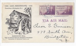 Naval Cover USS Trenton CL-11 1936 Bridgeton NJ 250th Anniv Cachet - $4.99