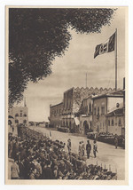 Greece Rhodes Rodi Governors Palace Guard Army Enrico Verdesi Postcard 4X6 - $6.49