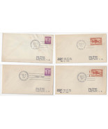 HPO Covers 1941 4X Highway Post Office South Bend San Fran Washington IN... - $12.70