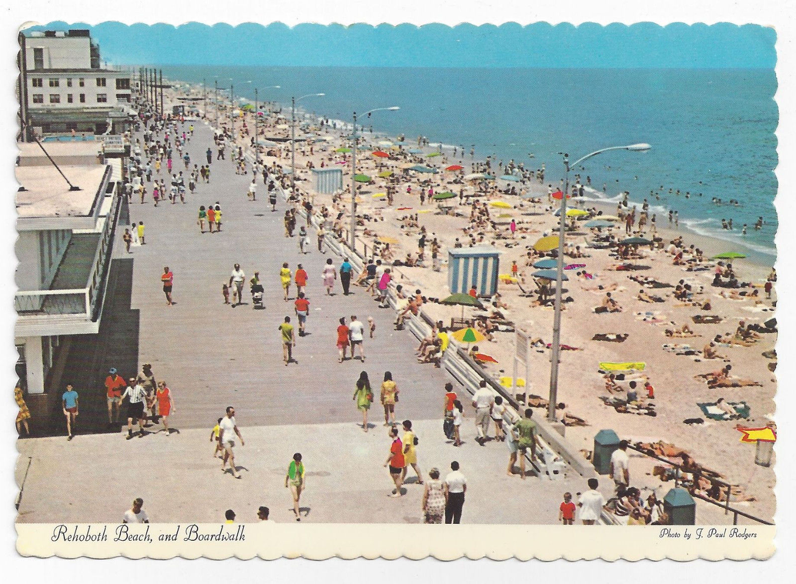 Rehoboth Beach Md Boardwalk Birds Eye View And 20 Similar Items