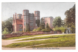 UK Kenilworth Castle and Gate House Vintage Postcard 1908 - $6.49