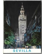 Spain Sevilla Seville Souvenir Postcard Folder 4X6 10 Views Garcia Garra... - $6.49
