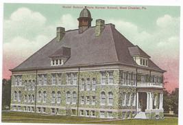 West Chester PA Model School Ruby Jones Hall Bicentennial Repro Postcard... - $6.49