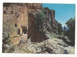 Greece Delphi Castalian Spring Castalia Fountain Vtg Postcard 4X6 - $6.49