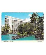 HI Naniloa Hotel Hilo Bay Resort Vtg Hawaii Postcard 4X6 1974 - $6.49