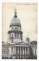 IL Springfield Illinois State Capitol Vintage Mayrose Co 1940s Postcard - $6.49