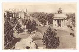 UK London Wellington Arch ca 1920 Vintage Photochrom Postcard - $6.49
